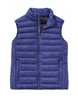 Lightweight Gilet in Blue Indigo