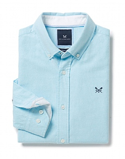 Oxford Slim Fit Shirt in Topaz Blue