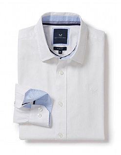 Kendal Slim Fit Shirt in Optic White