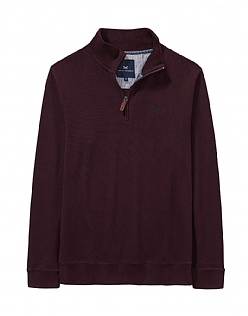 French Rib Sweatshirt in Fresh Damson