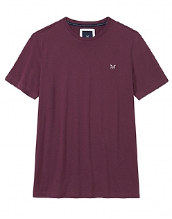 Crew Classic T-Shirt in Washed Plum