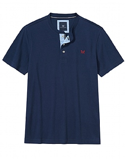 Harwood Henley T-Shirt in Heritage Navy