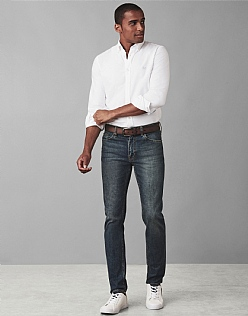 Spencer Slim Leg Jean in Antique