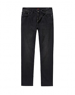 Spencer Slim Leg Jean in Washed Black