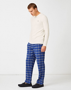 Sunday Lounge Trouser in Ultramarine Check