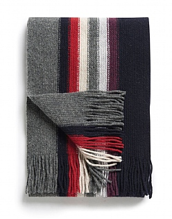 Stripe Lambswool Scarf