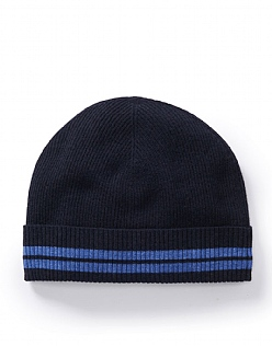 Wool Hat in Navy