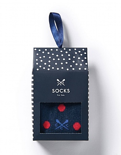 Sock Envelope Gift Set in Spot