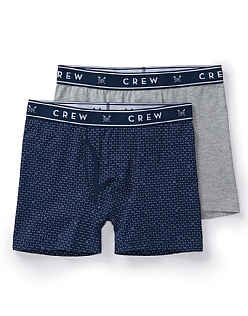 2 Pack Boxers in Navy