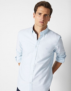 Crew Slim Fit Oxford Shirt