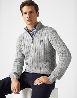 Half Zip Regatta Cable Jumper