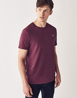 Crew Classic T-Shirt in Wash Plum