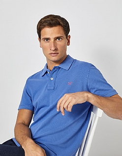 Classic Pique Polo in Amparo Blue