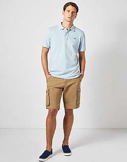 Classic Pique Polo in Cool Blue