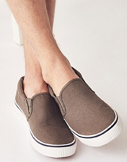 Canvas Slip on Trainer