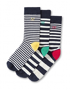 3 Pack Cotton Socks