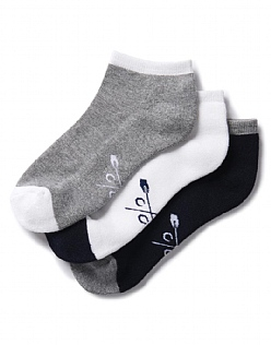 3 Pack Bamboo Trainer Socks
