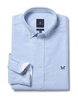 Oxford Slim Fit Shirt In Sky Blue