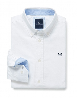 Oxford Classic Fit Shirt In White