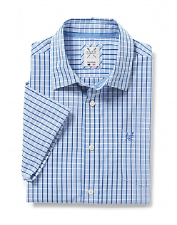 Grid Check Short Sleeve Shirt