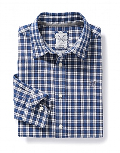 Flanel Small Check Shirt