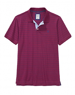 Shearwater Polo Shirt in Purple