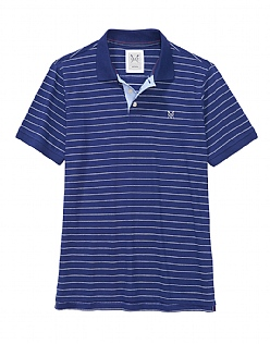Shearwater Polo Shirt in Navy