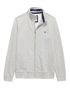 Classic Full Zip Through Sweat