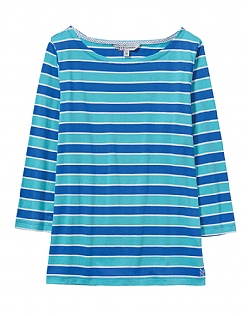 Multi Stripe Cassie T-Shirt in Blue