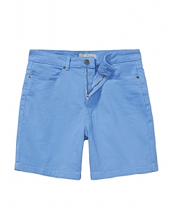 5 Pocket Shorts In Chambray
