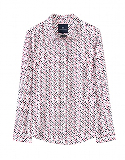 Printed Boyfriend Shirt