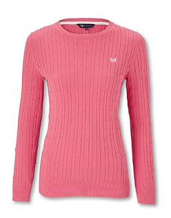 Cotton Cable Crew Jumper