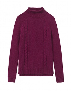 Turtle Neck Cable Jumper