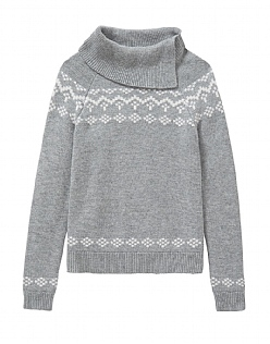 Fairisle Roll Neck