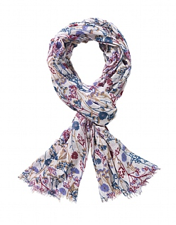 Autumn Field Print Scarf