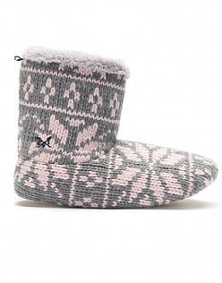 Snowflake Slipper Boot