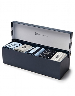 5 Pack Sock Box
