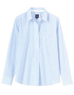 Multi Stripe Popover Shirt