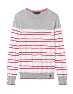 Double Breton Colour Block Jumper