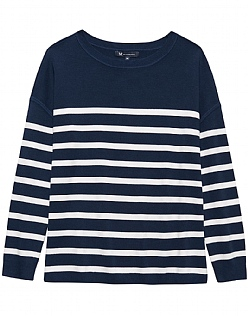 Boxy Stripe Jumper