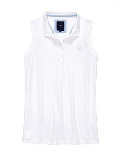 Sleeveless Feminine Polo