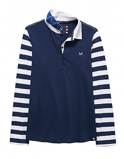 Crew Club Womens Stripe Rugby