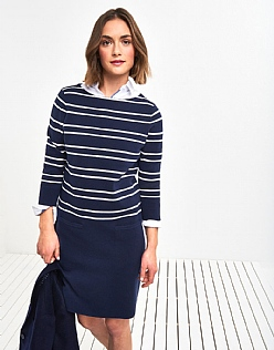 Stripe Milano Dress