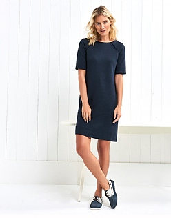 Quilted Jersey Dress