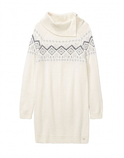 Fairisle Roll Neck Tunic