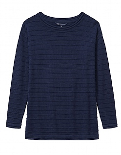 The Salcombe Essential Knit In Navy