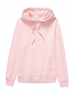 Crew Hoody In Classic Pink