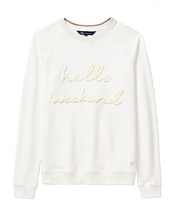 Raglan Hello Weekend Sweatshirt