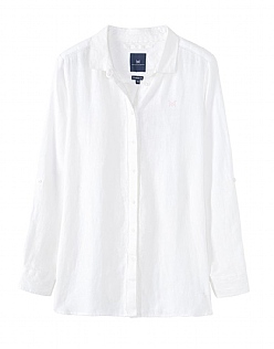 Linen Shirt In Optic White
