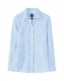 Linen Shirt In Blue